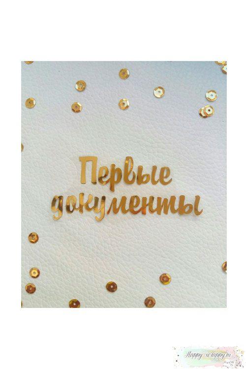 Термо-стикер Первые документы
