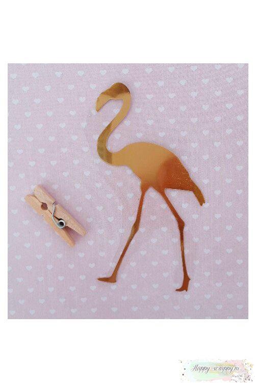 Термо-стикер Фламинго