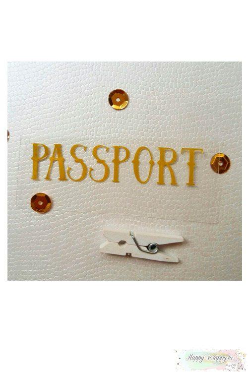 Термо-стикер Passport