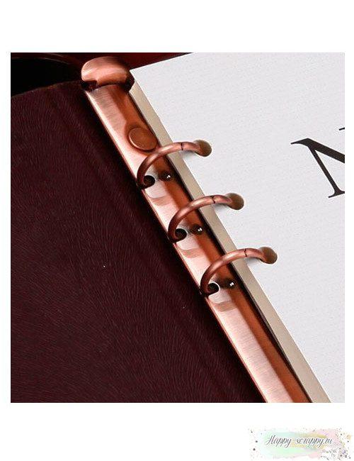 Кольцевой механизм 17 см - красная бронза