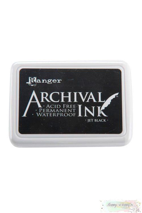 Чернильная подушечка архивная Archival Ink Pad - Black