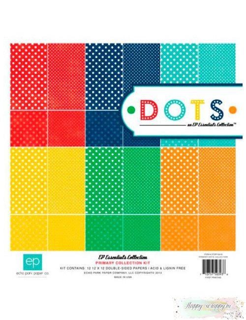 Набор бумаги Dots Primary