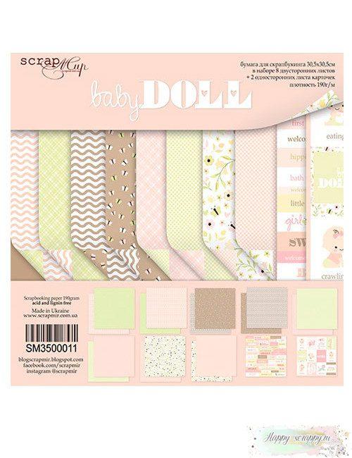 Набор бумаги Doll Baby