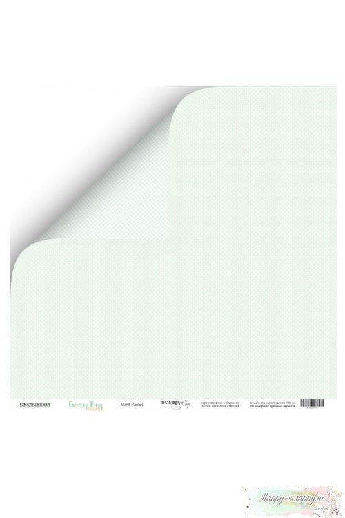 Бумага для скрапбукинга Every Day - Mint Pastel