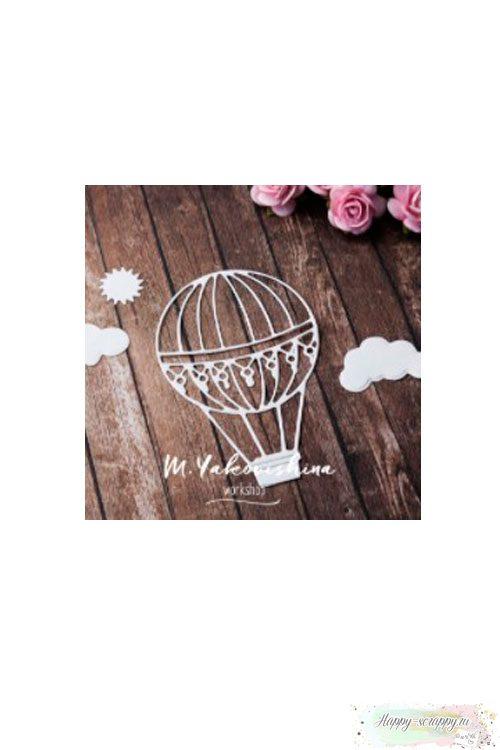 Вырубка - Воздушый шар с облаками