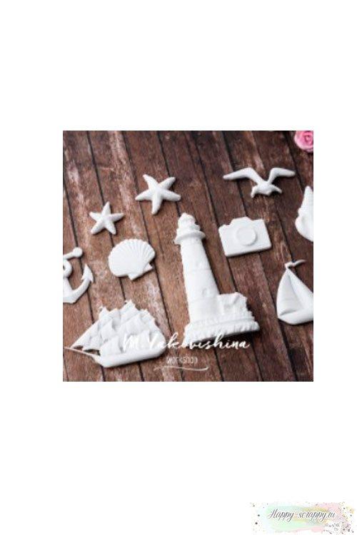 Набор фигурок из пластика Морской прибой