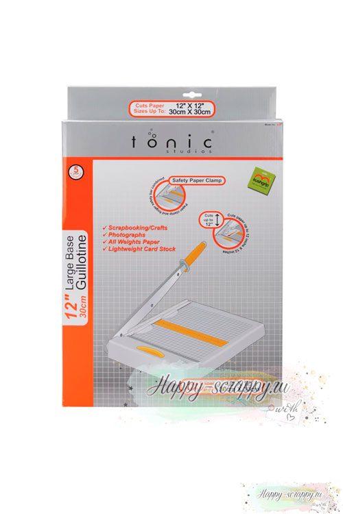 """Гильотинный резак 30х30см Tonic Studios (Guillotine Maxi Trimmer12"""")"""