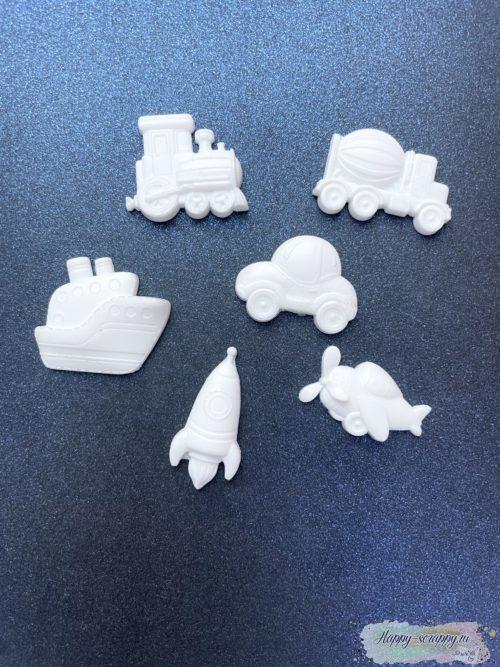 Набор фигурок из пластика - Машинки