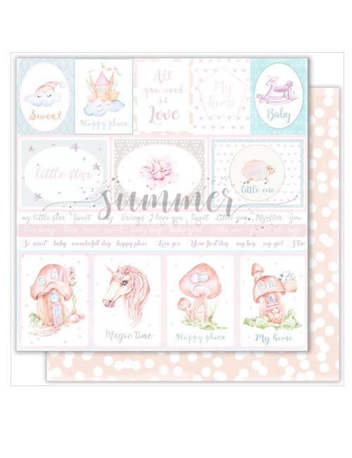 Бумага для скрапбукинга Vanilla dreams — Cards