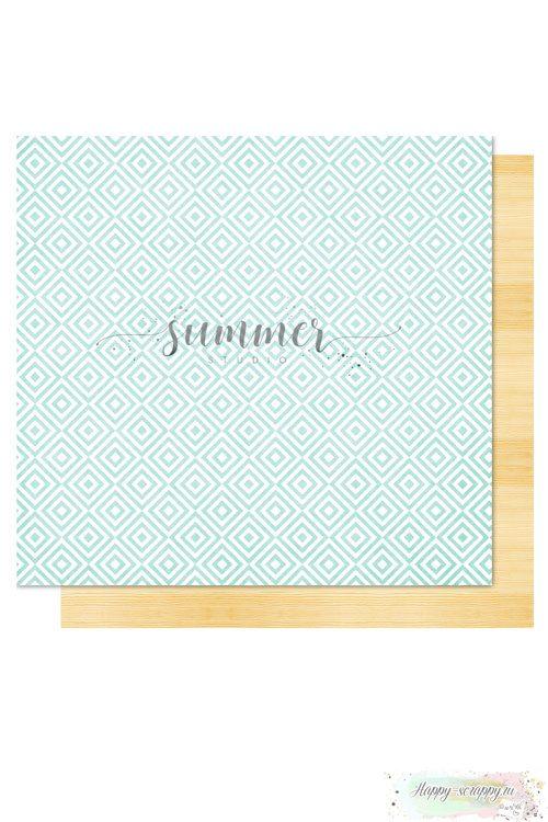 Бумага для скрапбукинга Sweet summer— Nature