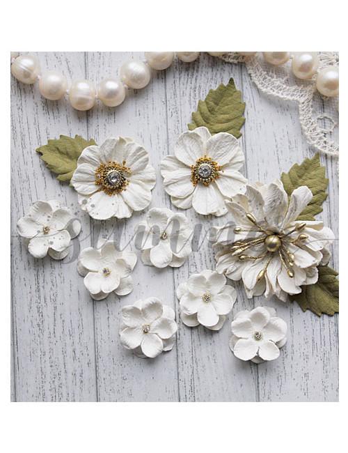 Набор цветов Vanilla dreams — Vanilla white