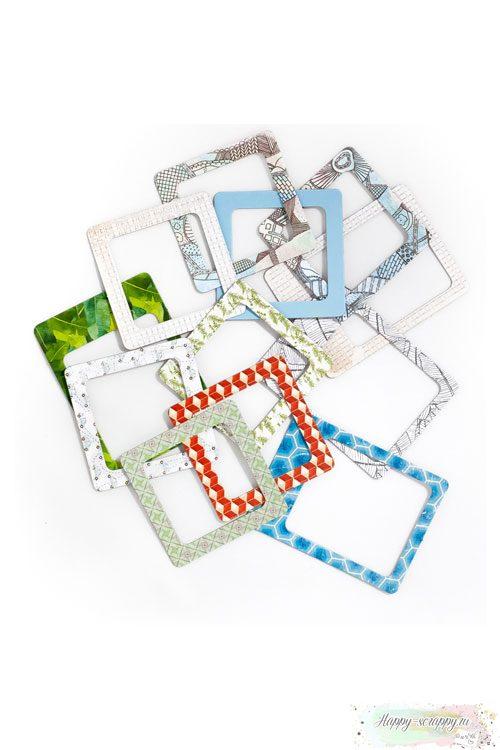 Рамочки из картона Вокруг света