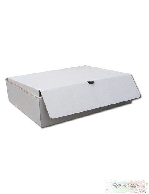 Коробка для альбома белая (24х24х6 см)