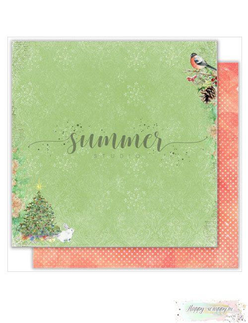 Бумага для скрапбукинга Christmas story — Christmas time