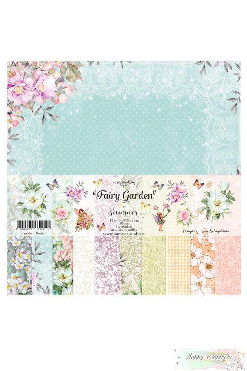 Набор бумаги для скрапбукинга — Fairy Garden