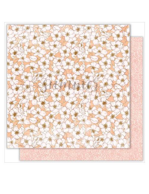 Бумага для скрапбукинга Fairy Garden — World of flowers