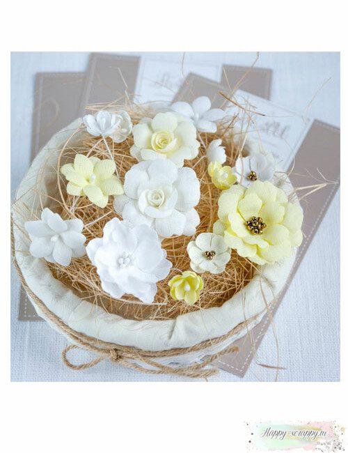Набор цветов Pastel flowers — Желтый № 2