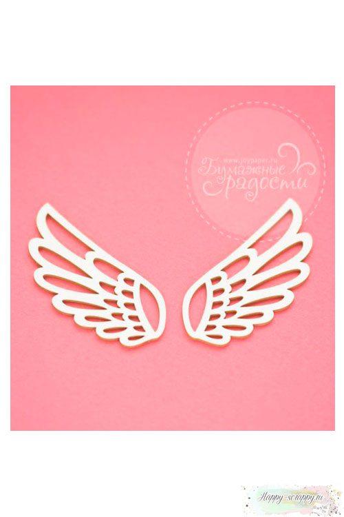 Чипборд Фоновый орнамент Крылья ангела (крылышки)