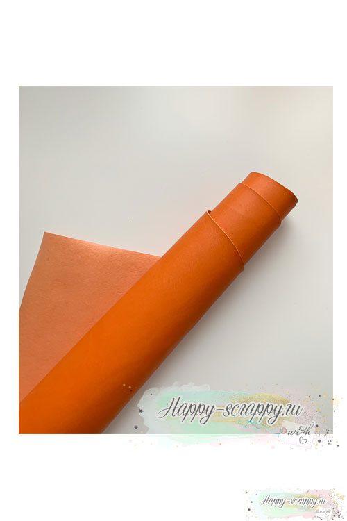 Переплетный кожзам - апельсин матовый