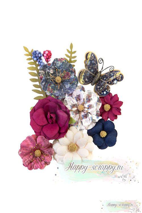 Набор цветов GLAMOROUS - Mulberry