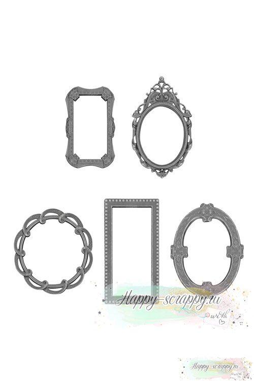 Металлические рамочки Tim Holtz - Idea-Ology Metal Deco Frames