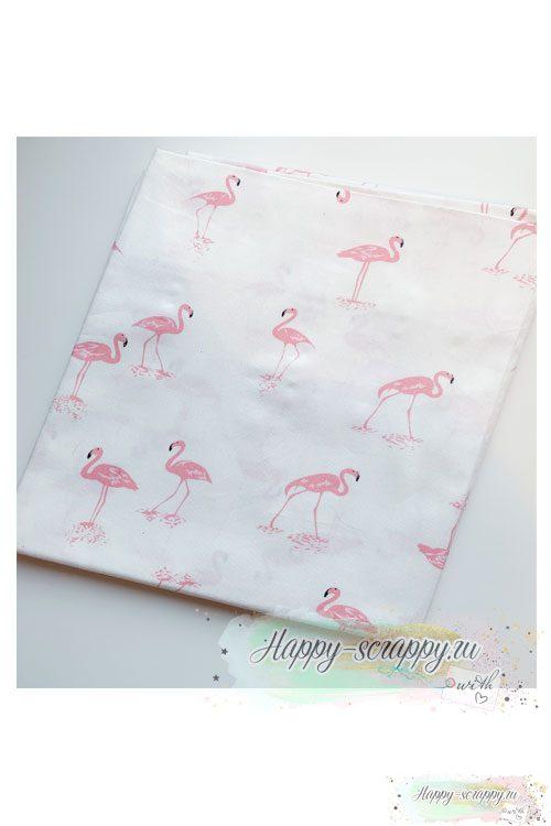 Ткань-розовый-фламинго-на-б