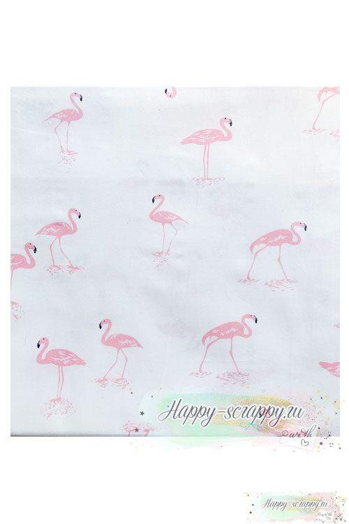Ткань-розовый-фламинго2
