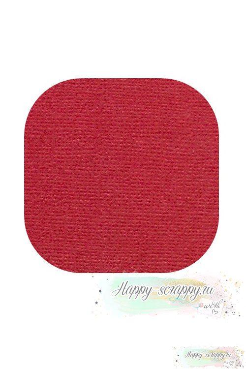кардсток-красный