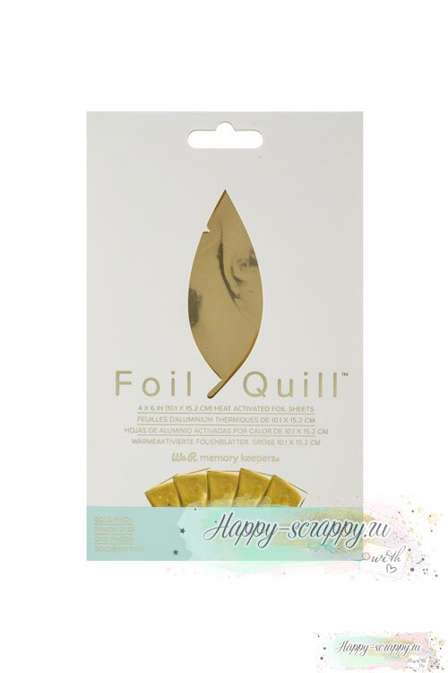 Набор фольги для Foil Quill от We R Memory Keepers GOLD FINCH