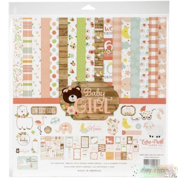 BABY GIRL бумага