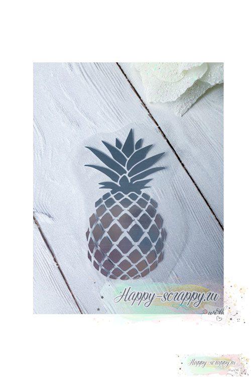 термотрансфер ананас
