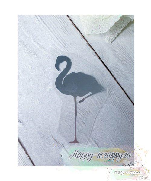 термотрансфер фламинго