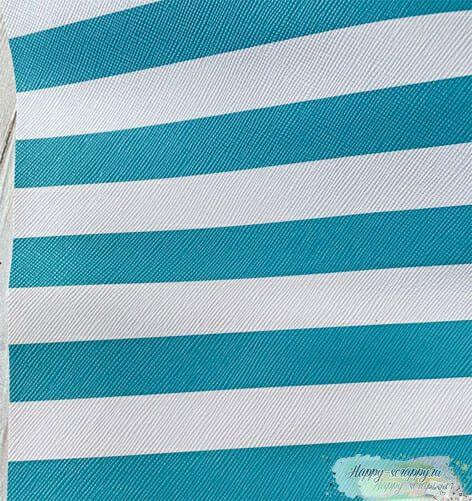 Кожзам-голубые-полосы