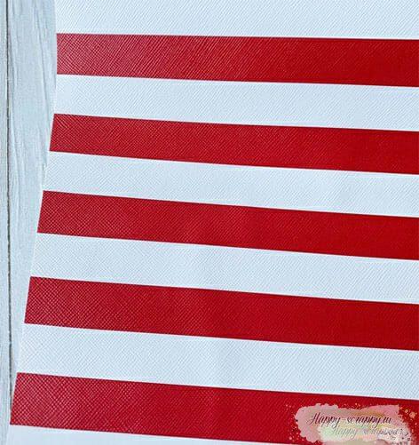 Кожзам-красно-белые-полосы