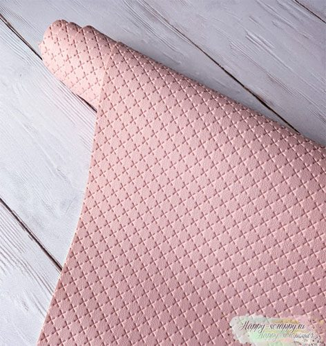 кожзам-крестик-персик