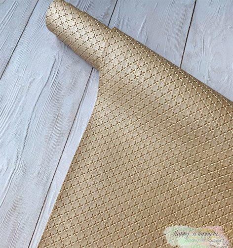 кожзам-крестик-золотой