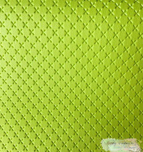крестик-зеленый