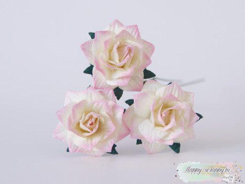 Жасмин - светлый розово-молочный