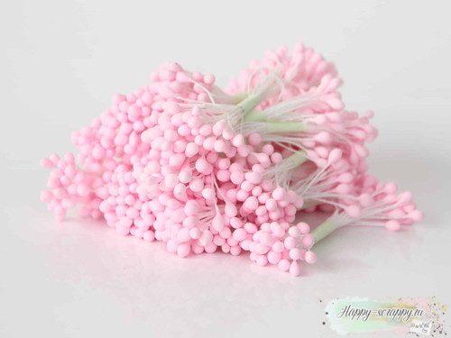 Тычинки маленькие розовые
