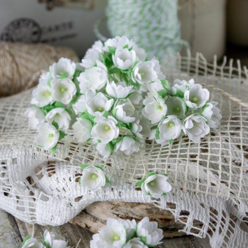 Набор цветов Pastel flowers — Малыши белые