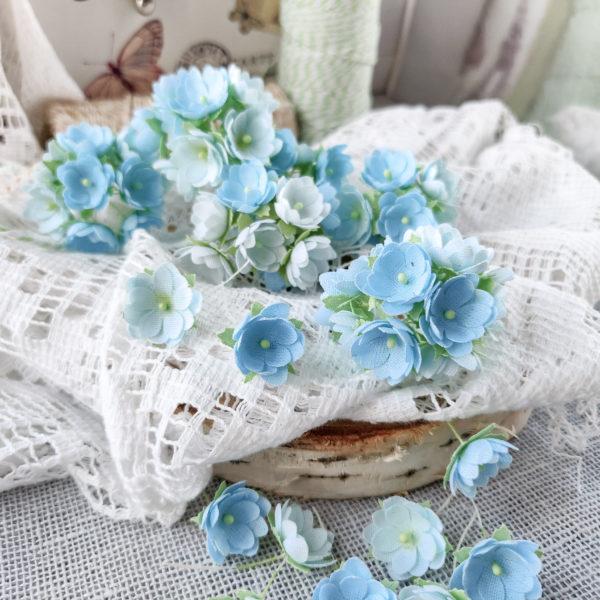 Набор цветов Pastel flowers — Малыши голубые