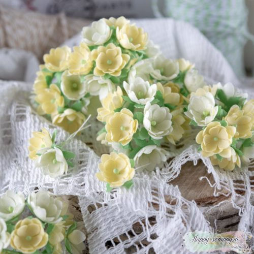 Набор цветов Pastel flowers — Малыши желтые