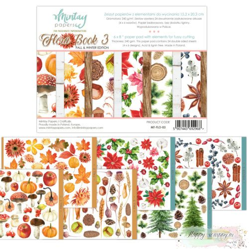 Flora book 3 от Mintay papers