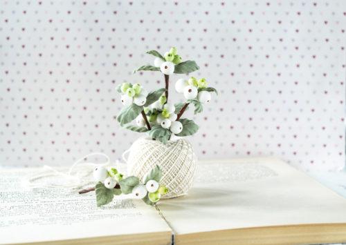 """Набор цветов Pastel flowers — """"Снежноягодник"""""""