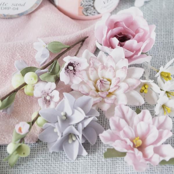"""Набор цветов Pastel flowers — """"Цветочный блюз"""" розовый"""