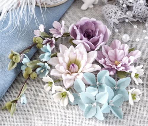 """Набор цветов Pastel flowers — """"Цветочный блюз"""" фиолетовый"""
