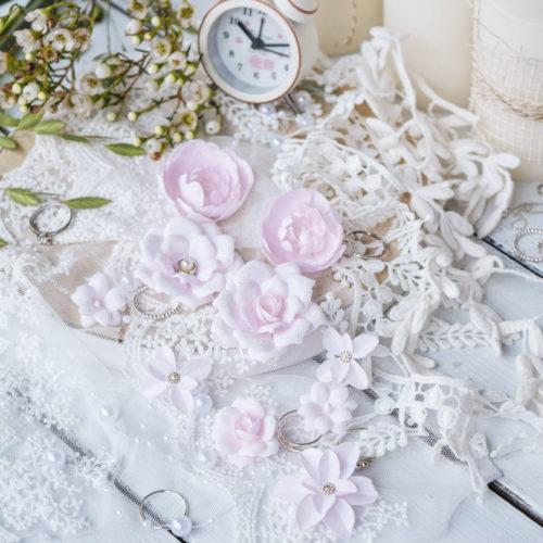 """Набор цветов """"Diamond"""" розовый"""