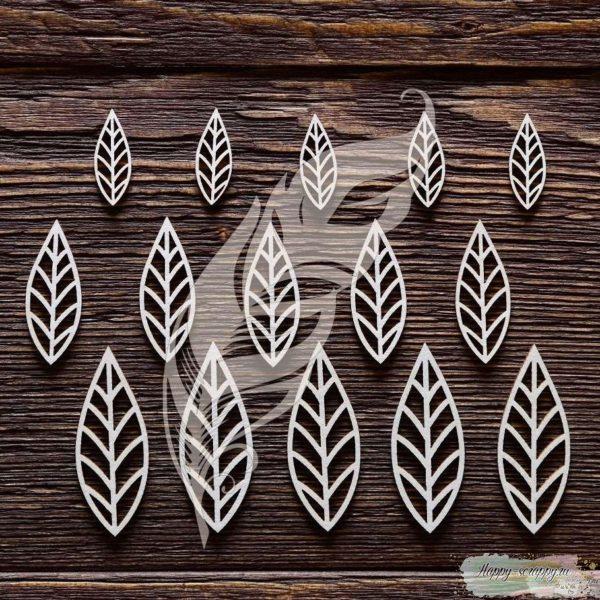 Чипборд из картона Листья