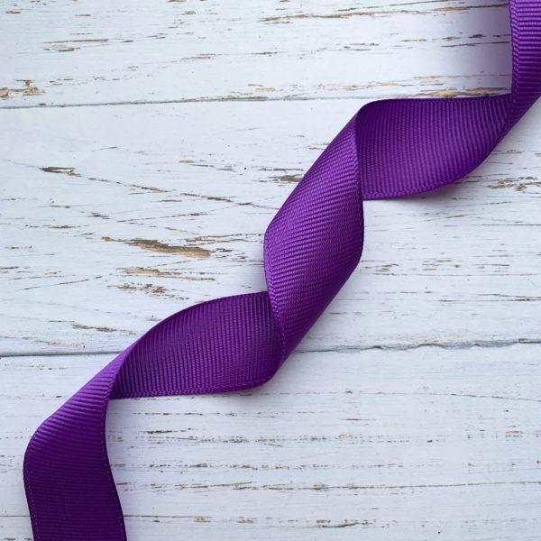 Лента репсовая - фиолетовая (1 м)