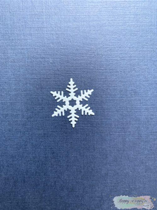 Снежинка №2